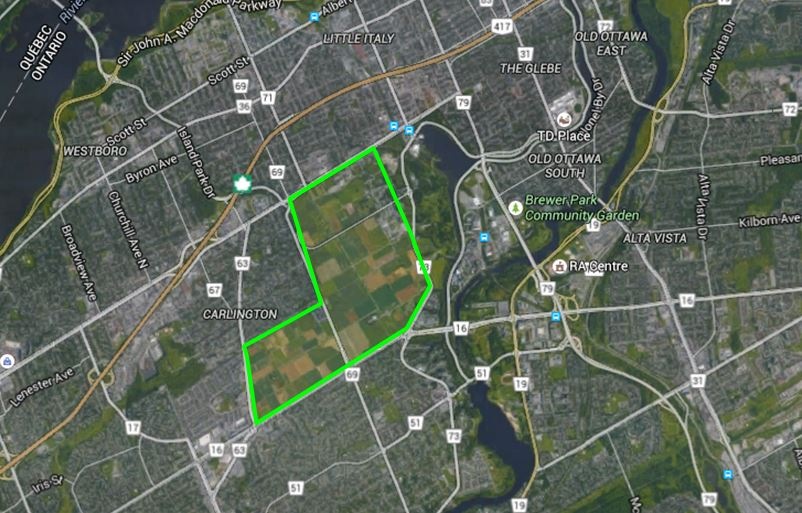 carte CEF Ottawa
