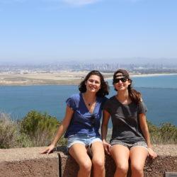 Vue sur la Baie de San Diego
