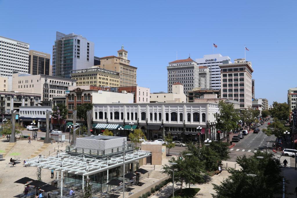 Vue sur le Downtown de San Diego