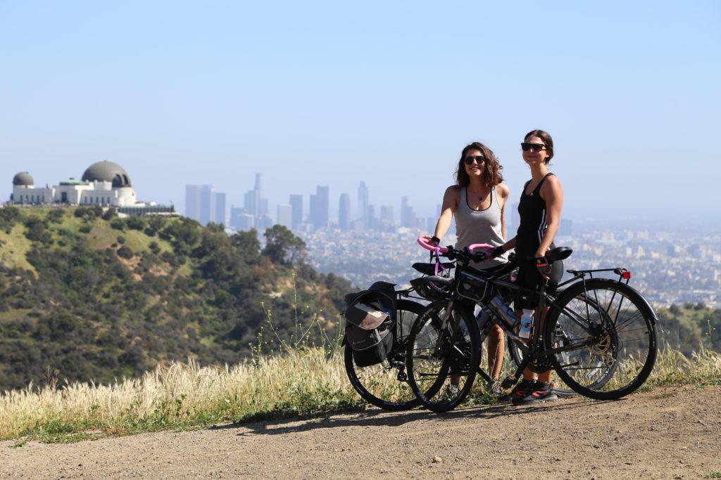 Vue sur Los Angeles depuis l'Observatory