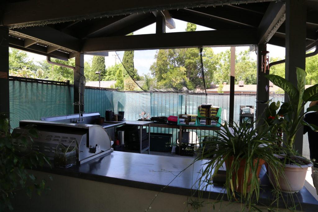 La cuisine extérieure de Sacramento Food Bank and Family