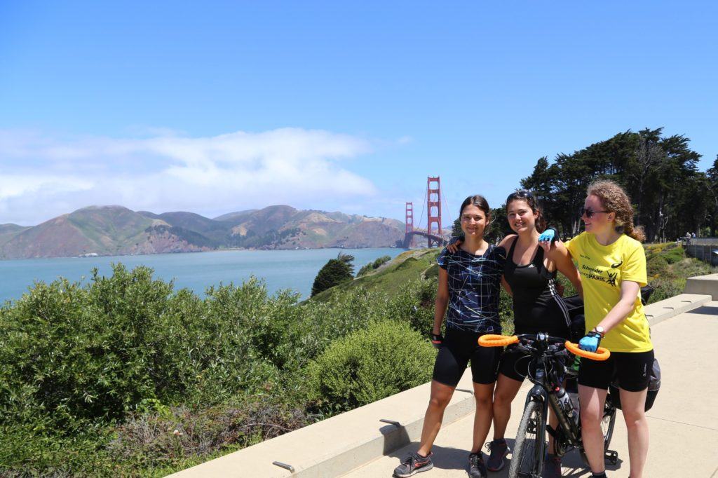 Vue sur le Golden Gate