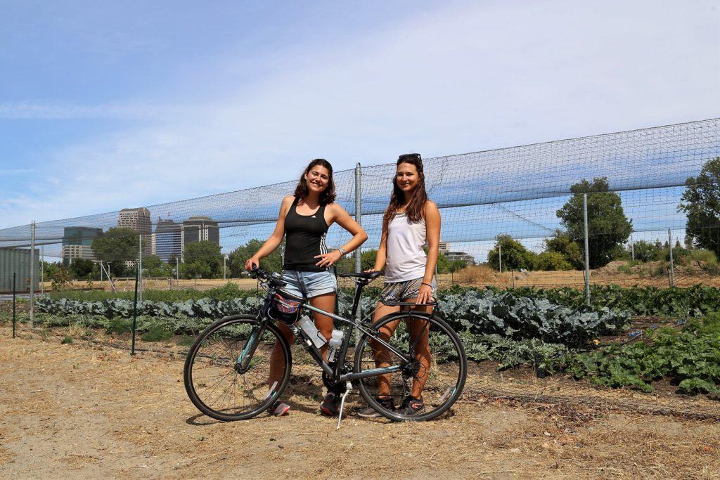 River Front Farm avec vue sur le downtown de Sacramento